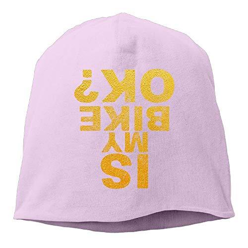 Wdskbg Is My Bike Ok Unisex Knit Hat Soft Stretch Beanies Skull Cap Hedging Cap Black Fashion25