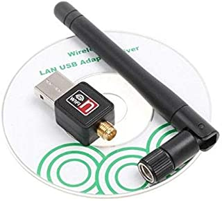 150M USB WiFi Wireless Network Networking Card LAN Adapter with Antenna Computer Accessories