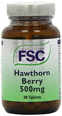 FSC 500mg Hawthorn Berry - Pack of 90 Tablets