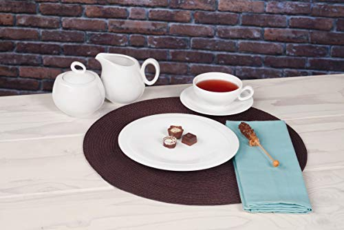 Seltmann Weiden 001.736895 Trio weiß Teeservice 20-teilig