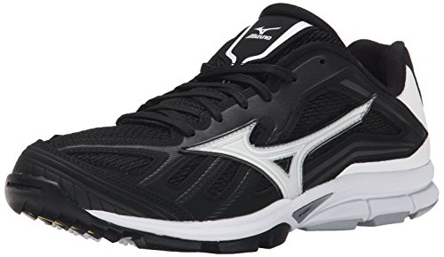 Mizuno Men's Players Trainer, Black/White, 13 M US