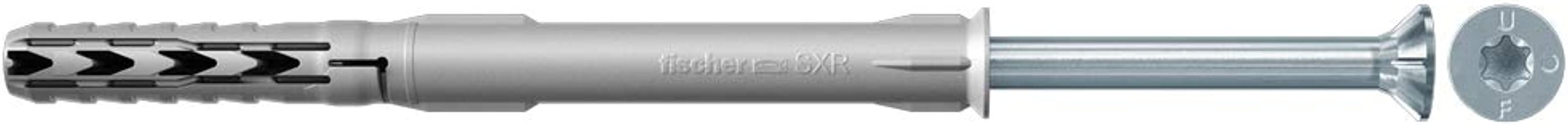 Fischer SXR 10 x 160 T - langschachtplug voor het bevestigen van gevel-, plafond- en dakonderconstructies, ramen enz. in m...