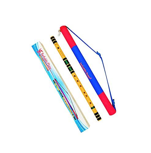 Sarfuddin Flutes C Natural Medium 19 Inches Right Handed Bamboo Flute.