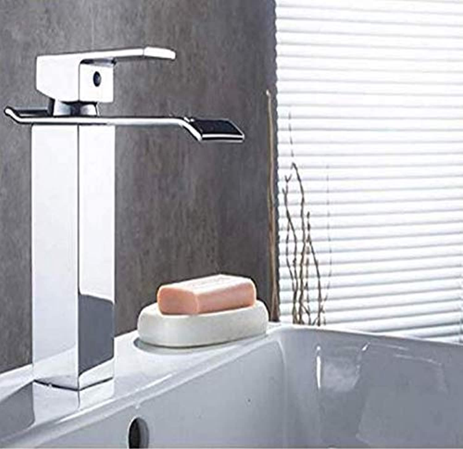 Faucets Basin Mixerchrome Sink Tap Vanity Hot Cold Water Faucet White Painting Tap Faucet