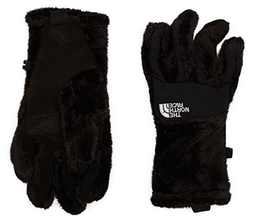 The North Face W Glove Guantes Denali Thermal Etip para Mujer, TNF Black, L