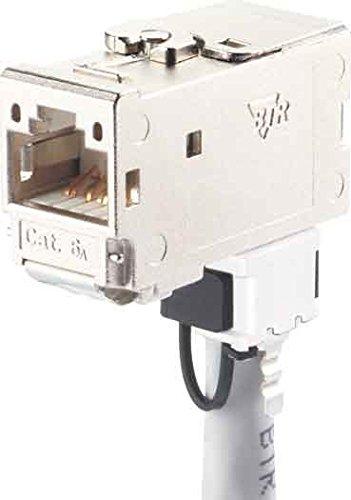 Unbekannt Metz Connect C6Amodul 270 Jack TN C6Amod-270 Cat. 6A geschirmt C6Amodul Modularer Steckverbinder 4250184137535
