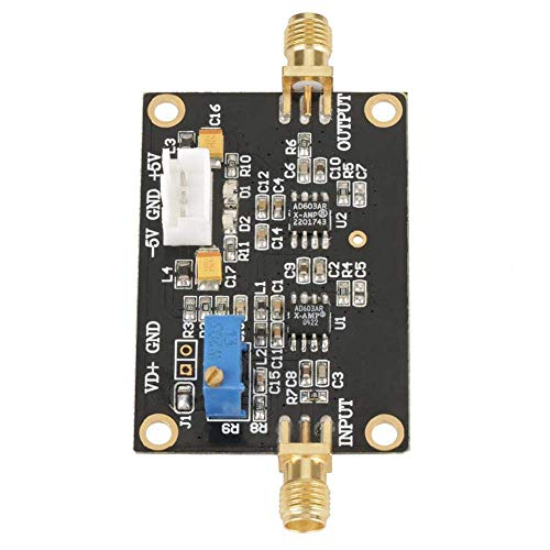 Liineparalle Amplificador AD603 Amplificador de Banda Ancha de Ganancia Ajustable Amplificador de bajo Nivel de Ruido Control de DA Programable AGC Amp 90M