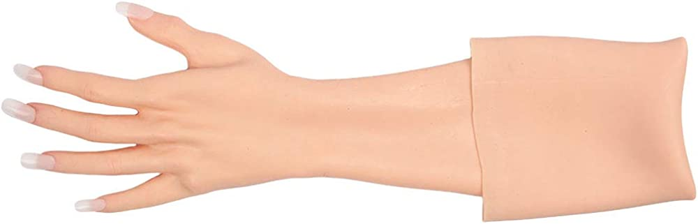 CYOMI Crossdressing Silicone Gloves At the price Realistic Max 55% OFF Skin Nai with Hand