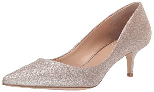 Jewel Badgley Mischka Women's ROYALTY Shoe, Gold Glitter, 7 M US