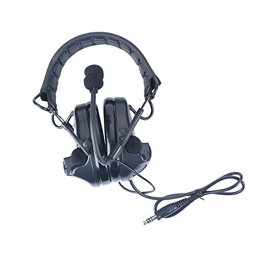 WADSN COMTAC II Tactical Headset Earmuff Noise Reduction Electronic Sound...