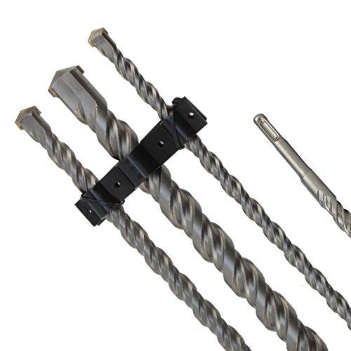 SDS Plus Bohrer Steinohrer Hammerbohrer Set 12-16-24 mm x 1000 mm 3tlg Doppelwendel