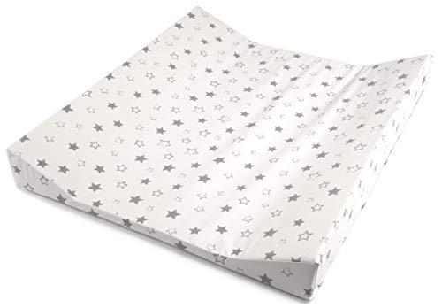 Wickelauflage Mulde, passend für Trend-Welt Wickeltischaufsatz 60 x 70 cm (Sterne)
