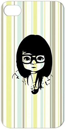 Anime art nerd girl The 14