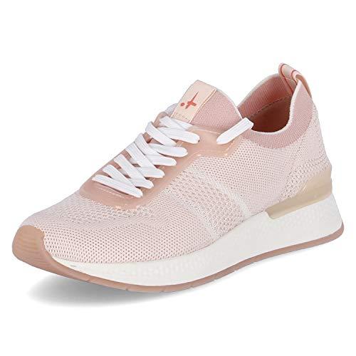 Tamaris Zapatillas deportivas para mujer, suela suelta, color Rosa, talla 36 EU