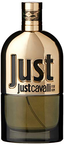 Roberto Cavalli Just Cavalli Gold Him homme/ men, Eau de Parfum, Vaporisateur/ Spray, 90 ml, 1er Pack, (1x 90 ml)