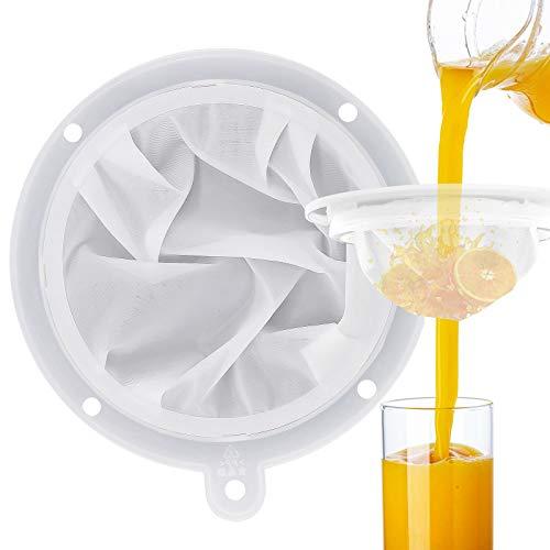 JJQHYC Filtre à Tamis Fin 300 Mailles Filtres à Entonnoir de Cuisine Insert d'entonnoir de 13 cm pour Filtrer la liqueur, l'huile de friture, les jus de fruits
