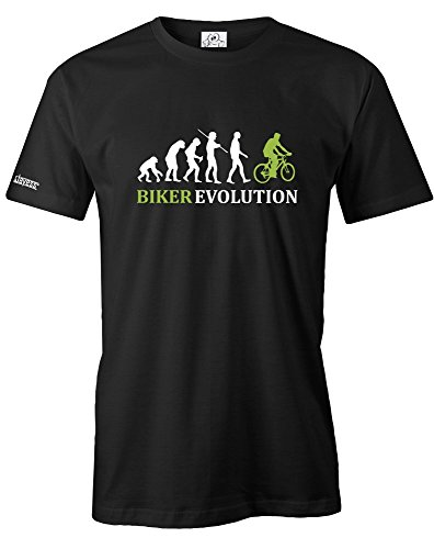Jayess Biker Evolution - Herren - T-Shirt in Schwarz by Gr. L