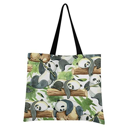 XIXIXIKO - Bolsa de bambú ligera para la playa, bolsa de lona para el hombro, resistente para mujeres, niñas, compras, gimnasio, playa, viajes diarios