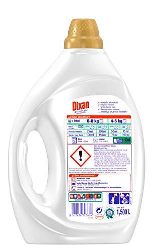 Dixan Detergente Líquido Aromaterapia Frescor Sensual – Pack de 4 – Total 120 Lavados (6 L)