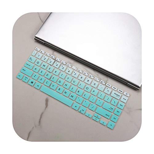 Funda de teclado para Asus Vivobook S14 M433Ia M433I M433L M433 IA Ryzen 5 4500U 2020 14 pulgadas silicona teclado de piel cubierta
