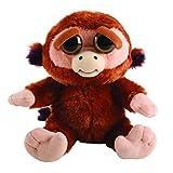 Mac Due Italy - Feisty Pets Mono de Peluche, Color marrón, 323605