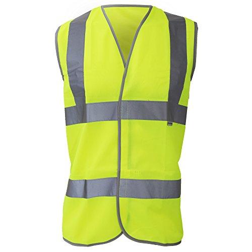 Dickies Mens Workwear Highway Hi Vis Safety Waistcoat