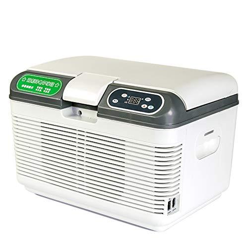 ZL Enfriar Caja eléctrica, refrigerador Portable del Coche Nevera portátil termoeléctrica Mini-Nevera Larga Distancia de conducción Viajes y Camping Dormitorio Caravana Oficina