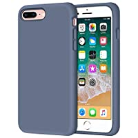 COMPATIBILITY - Shock proof phone case for Apple iPhone 7 Plus 5.5 inch (2016 release) & iPhone 8 Plus 5.5 inch (2017 release), simple and clean design, support wireless charging while case is on SLIM & PROTECTIVE: Fits snugly and provide a good amou...