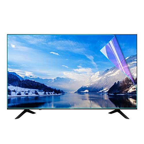 AWSAD Protector De Pantalla De TV, 27-75 Pulgadas para LCD, LED, OLED Y QLED 4K HDTV Aliviar La Fatiga Ocular Resistente A Rayones Antihuellas (Color : Anti-Blue Light, Size : 49 Inch 1075X604mm)