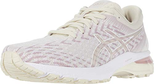 ASICS Women's GT-2000 8 Knit Running Shoes, 5.5M, Purple Oxide/Watershed Rose