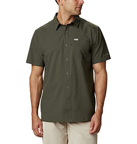 Columbia Camisa de Campamento Slack Tide para Hombre, Hombre, Slack Tide - Camiseta de Campamento, 1577054, Tundra Alpina, X-Large Alto