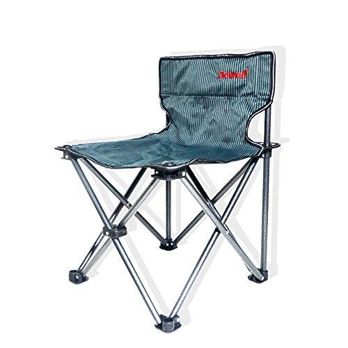 LifeX Bande Grise Noire de Camping Chaise Pliante Plage Chaise Pliante Chaise Longue Pliable en Alliage d'aluminium Tabouret Pliable Auto-Conduite Camping Banc de fainéant