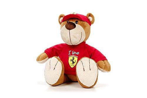 Sportbar Ferrari Denim Teddy con Seduto, Altezza 35 Cm, Multicolore, Taglia Unica, 21603