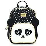KAL-GAV Panda Toddler Backpack, Ages 2-5 – Fun, 13 In. Preschool Backpack for Girls and Boys Has Comfortable, Adjustable Straps and Mesh Bottle Pocket – Carry School Supplies, Lunch Bag, and More