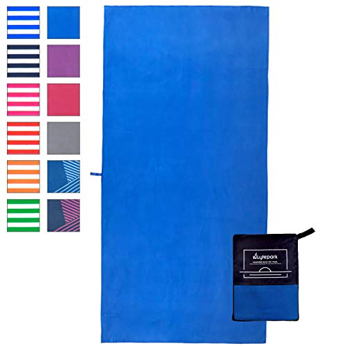 Lytepark Microfibre Travel Towel - Quick Dry Sports and Backpacking Towel -...