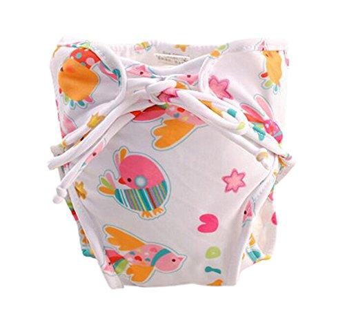 nourrisson r/églable Swim couche-culotte, Taille moyenne poisson, color/é