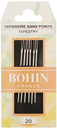 Bohin Tapestry Hand Needles -Size 20 6/Pkg (008-832)