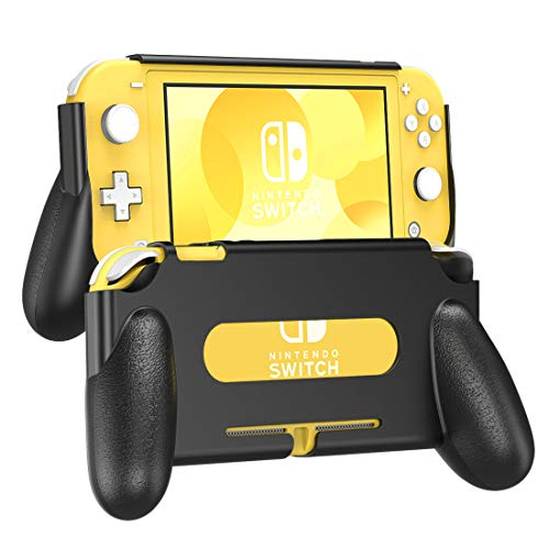TiMOVO Grip for Nintendo Switch Lite, Ergonomic Hand Grip Case Durable Shock-Proof Handle for Nintendo Switch Lite Console