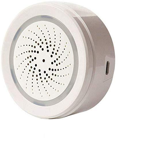 ECOOLBUY Smart WiFi Temperatur-Luftfeuchtigkeits-Sensor für Innen und Außen Kompatibel mit Alexa Google Home.