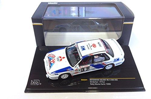 Générique Mitsubishi Galant VR-4 Rally Monte Carlo 1:43 Car IXO RAC231