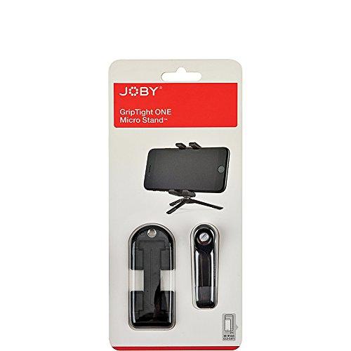 JOBY GripTight One Micro Stand - Soporte Universal Plegable Super Compacto para Smartphone e iPhone, Color Negro, JB01492-0WW