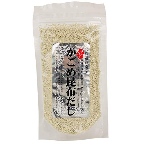 がごめ昆布だし 70g(顆粒タイプ)さっと溶けて使い勝手の良いがごめこんぶだし(北海道産ガゴメコンブ使用の顆粒出汁)がごめコンブ100%の風味を生かしたダシ
