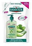 Sanytol - Eco Recarga de Jabón de Manos Hidratante con Protección Total Contra Agentes Externos - Envase de 200 ml