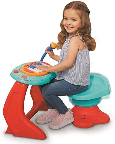 Little Tikes Little Baby Bum Sing Along Piano Musical Station Keyboard with Working Microphone product image