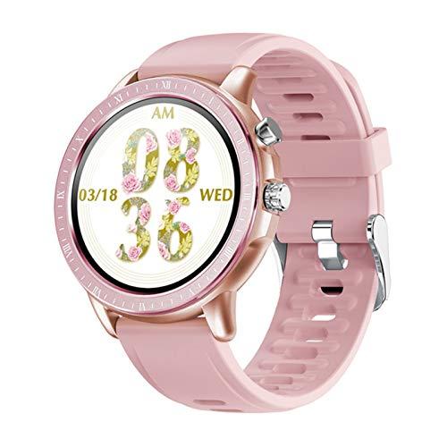 ZRY Nuevo Reloj Inteligente Hombres y Mujeres SmartWatch Pulsera Pulsera Fitness Tracker Presión Arterial Pulsera a Prueba de cardíes S02 DT78,F