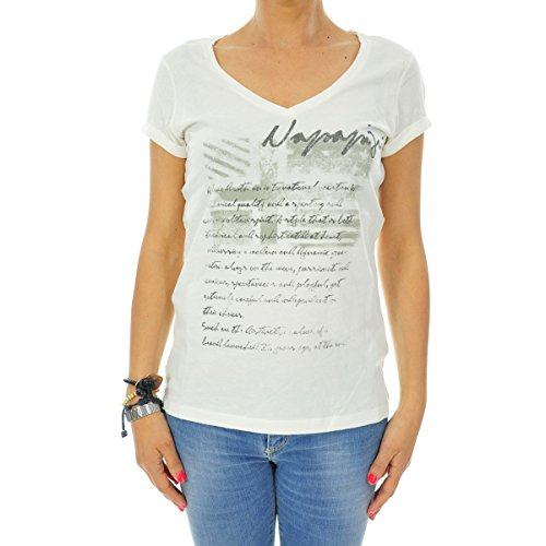NAPAPIJRI Stab T-Shirt, Avorio (Marfil (Neutro 029), M Donna