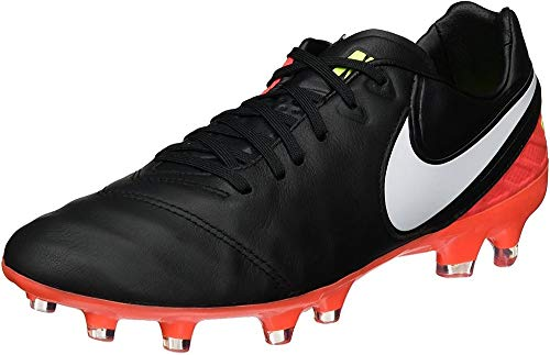 Nike Men's Tiempo Legacy Ii Fg Footbal Shoes, Black Black...
