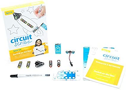Educational Circuit Scribe Circuit Drawing Kit Ultra Kit 34 Piece Ages 8+