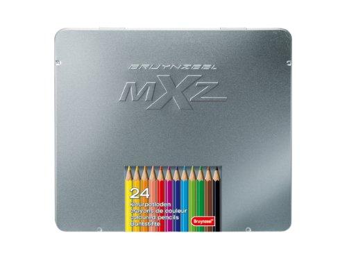 Bruynzeel 7524M24 - potloden MXZ blik, 24 stuks