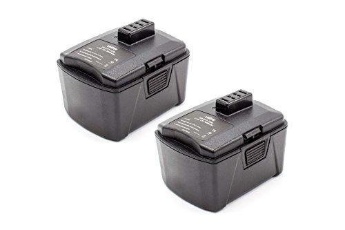 vhbw 2x Li-Ion batería 3000mAh (12V) para herramienta eléctrica powertools tools como...